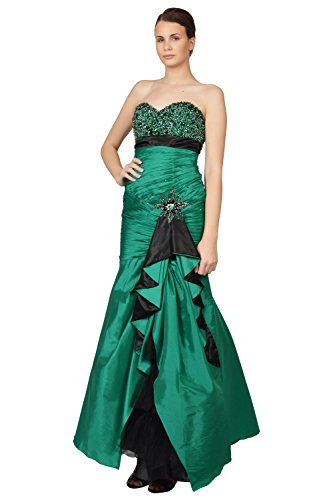 Cinderella Strapless Sweetheart Beaded Formal Prom Gown Dress