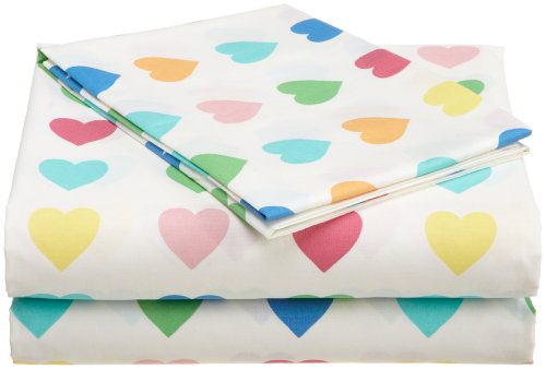 Tommy Hilfiger Sweetheart Hearts 4pc Full Bedding Sheet Set