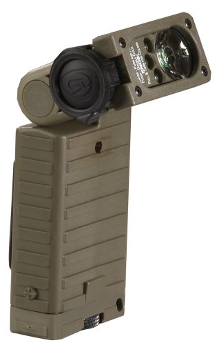 Streamlight 14007 Sidewinder HP Flashlight with Alkaline Batteries and White/Red/Blue/IR LED, Green