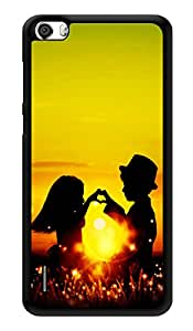 """Humor Gang Love Couple Sunshine Printed Designer Mobile Back Cover For """"Huawei Honor 6"""" (3D, Glossy, Premium Quality Snap On Case)"""