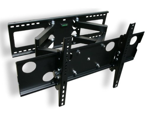 Dual Arm Full Motion Wall Mount Fits (32 37 40 42 46 47 50 55 60 65)Inch Tv Universal For Lcd Led Plasma Hdtv