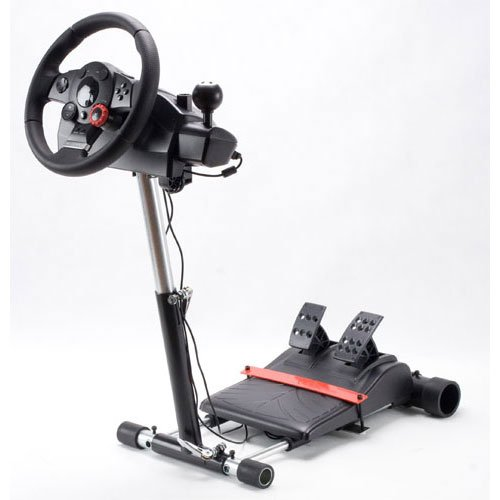 Wheel Stand Pro for Logitech Driving Force GT/PRO/EX/FX wheels - V2 Black Friday & Cyber Monday 2014