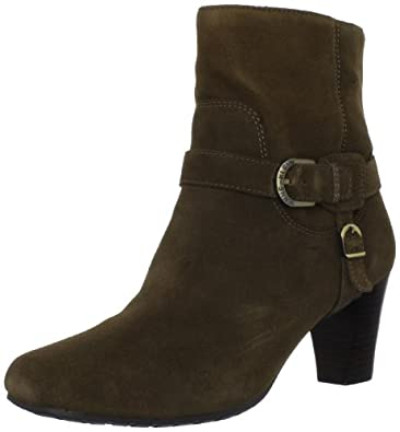 AK Anne Klein Women's Bigger Ankle Boot,Dark Taupe,9 M US