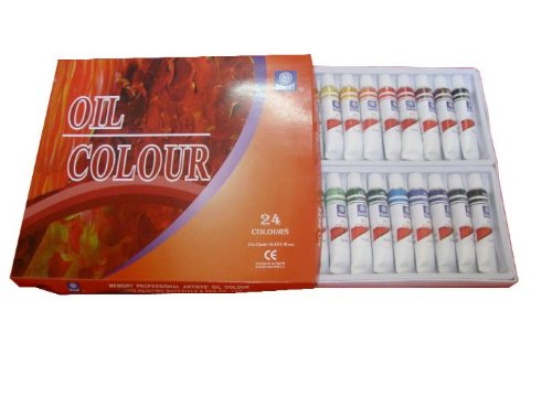 memory-professional-artists-oil-paint-set-24-colours-in-12ml-aluminium-tubes-retail-packed
