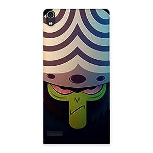 Enticing Premier Moj Multicolor Back Case Cover for Ascend P6