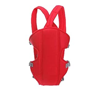 Zehui Adjustable Infant Baby Carrier born Kid Sling Wrap Rider Backpack Red