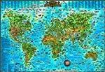 Weltkarte f�r Kinder: Dino's illustri...