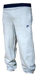 Nike Fleece Cuffed Herren Jogginghose, Grau/Navy, 415307-070, Größe M