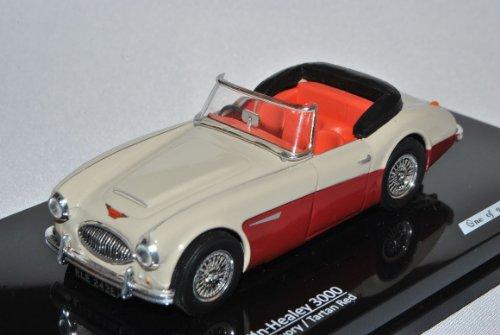 Austin Healey 3000 Cabrio Rot Beige Offen 1/43 Vitesse Modell Auto