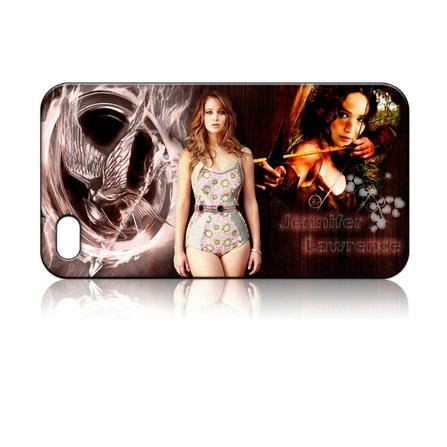 Jennifer Lawrence the Hunger Games Hard Case