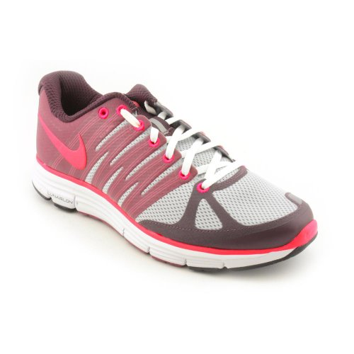 official photos 36d39 34439 Nike Womens Running Shoes LUNARELITE + 2 Wolf Grey   Solar Red   Deep  Burgandy SZ