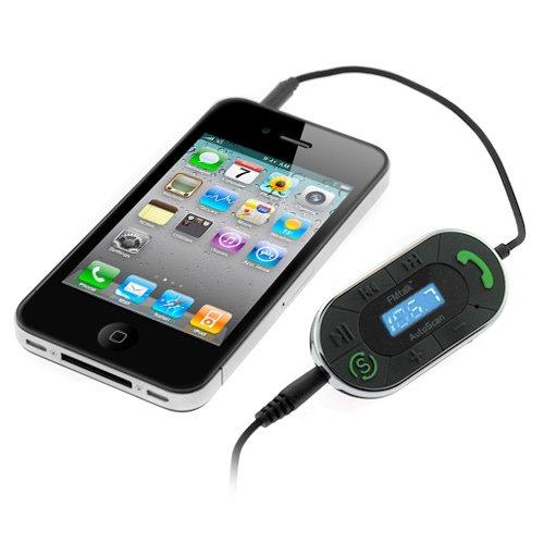 iKross 3.5mm LED FM Radio Transmitter  Auto-Scan