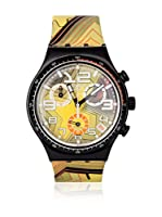Swatch Reloj de cuarzo Unisex STROKE LIGHT YCB4010 40 mm