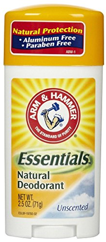 Unknown Arm & Hammer Arm & Hammer Essentials Natural Deodorant Solid Unscented 2.5 Ounce