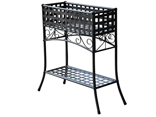 Mandalay Novelty Plant Stand Finish: Black (24 Urn Planter compare prices)