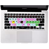 Final Cut Pro X Keyboard Cover Silicone Skin Protector for Macbook Pro 13 15 17 Inch (US / European ISO Keyboard)