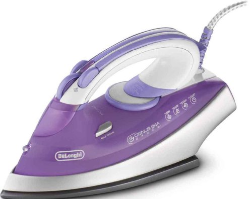 Delonghi Fxg24at, 220-240 Volt/ 50-60 Hz, Steam Iron, OVERSEAS USE ONLY, WILL NOT WORK IN THE US (Delonghi Ironing compare prices)