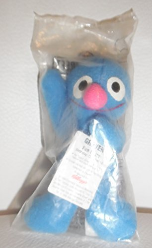 Sesame Street Mini Bean Plush - Grover - from Kellogg's - 1