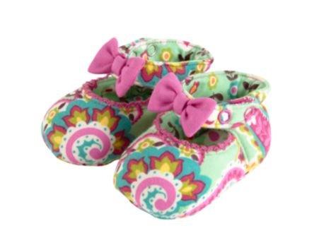 Vera Bradley Mary Jane Soft Shoes 0-6M in Tutti Frutti