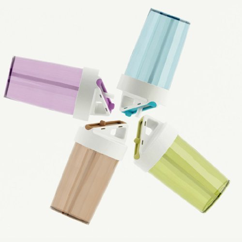 Kids Water Bottles With Straw front-1026201