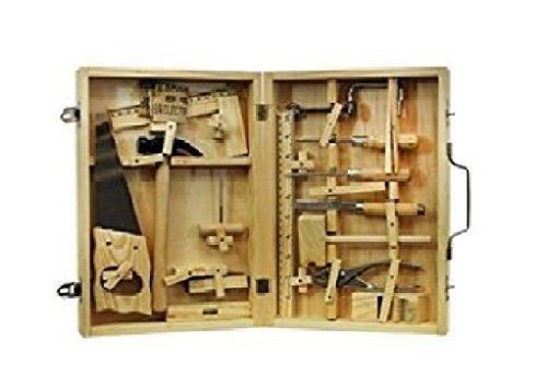 Metal Tool Box: Real Wood Toys