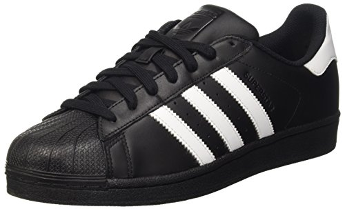 adidas Originals Superstar Foundation B27140, Herren Low-Top Sneaker, Schwarz (Core Black/Ftwr White/Core Black), EU 42 2/3 thumbnail
