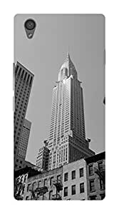 Koveru Designer Printed Protective Snap-On Durable Plastic Back Shell Case Cover for OnePlus X - The Empire State Building New York