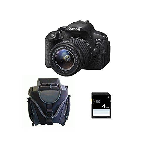 CANON EOS 700D + 18-55 IS STM + Sac + SD 4Go