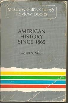 Amazon Com American History Since 1865 Mcgraw Hill