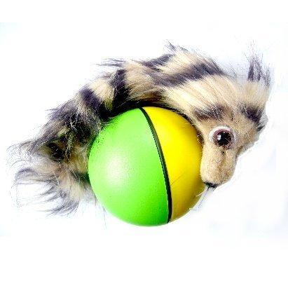 Weazel Ball Wiesel Ball Tierspielzeug by Relaxdays