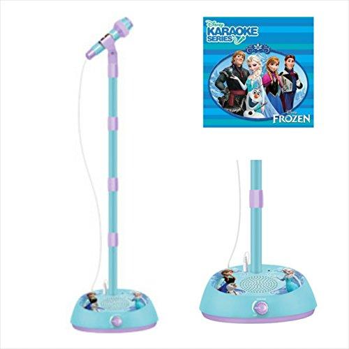 frozen karaoke machine microphone