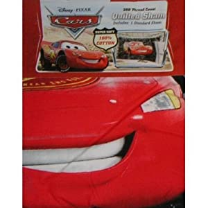 Disney Cars Quilted Pillow Sham - Standard Size at Sears.com