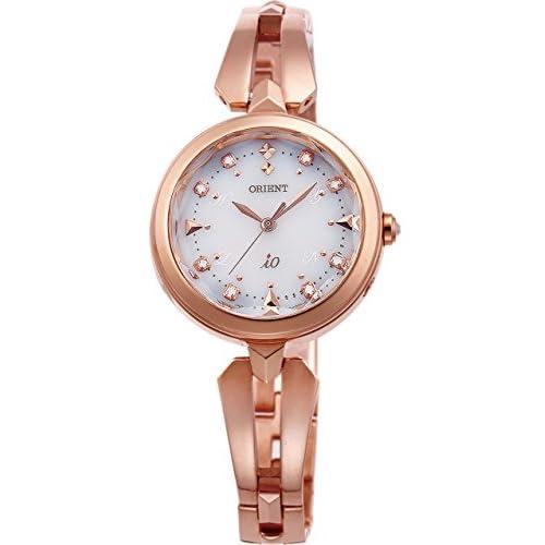 [オリエント]ORIENT 腕時計 iO  イオ スイートジュエリー ソーラー電波 ホワイト WI0101SD レディース
