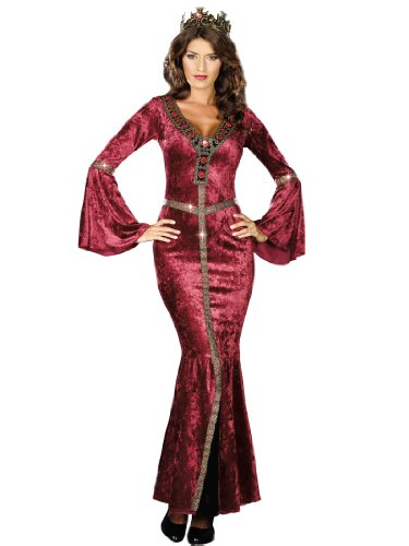 Sexy Renaissance Costume Dress Medieval Crushed Velvet Women Theatrical Costume