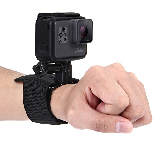 PULUZ Adjustable Velcro Wrist Strap Mount For GoPro HERO5 /4 Session /4 /3+ /3 /2 /1, Strap Length: 28. 5cm