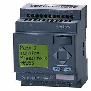 Programmable Controller 12 I/O Advanced Plc Hmi, 12/24Vdc, Time Clocks, Timers, Counters, Logic, Analog Inputs