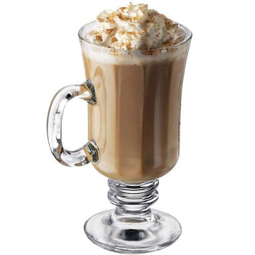 Libbey Milan 8-1/4-Ounce Irish Coffee Mug in Optic, 4-Piece Set