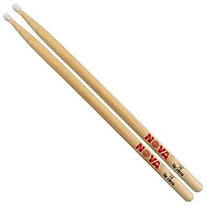 Vic Firth VFN2BN NOVA 2B Hickory Nylon Tip Drumsticks from Vic Firth
