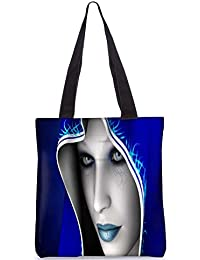Snoogg Fantastique Art Digital Digitally Printed Utility Tote Bag Handbag Made Of Poly Canvas