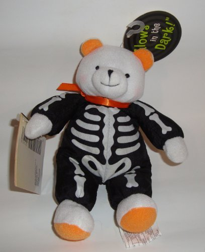 Little Brandon Bear Glow in the Dark Skeleton Costume Plush by Hallmark