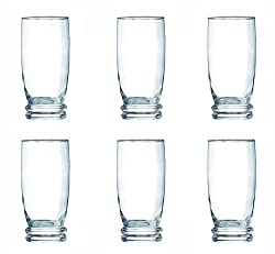 Luminarc Cortina Highball Tumbler Set, 330ml, Set of 6, Transparent