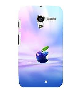 printtech Apple Back Case Cover for Motorola Moto X XT1058::Motorola Moto X (1st Gen)