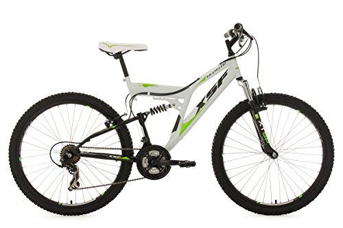 KS-Cycling-Fahrrad-Mountainbike-Fully-XSF-wei-grn-26-513M