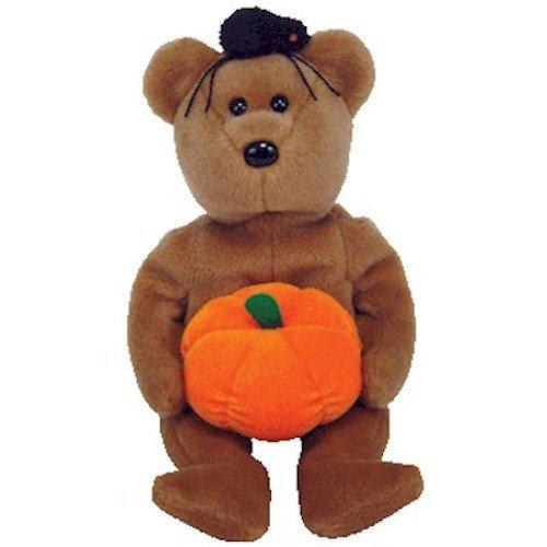 1 X TY Beanie Buddy - HOCUS the Halloween Bear