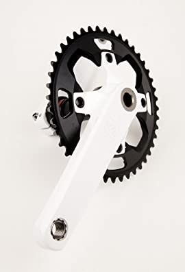 DK Flash Race Crank 180mm White
