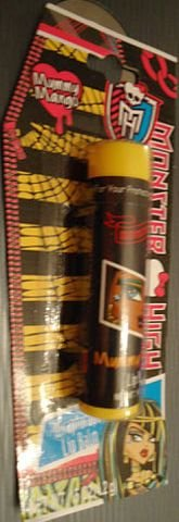 Monster High Wrapturous Mummy Mango Flavored Lip Balm