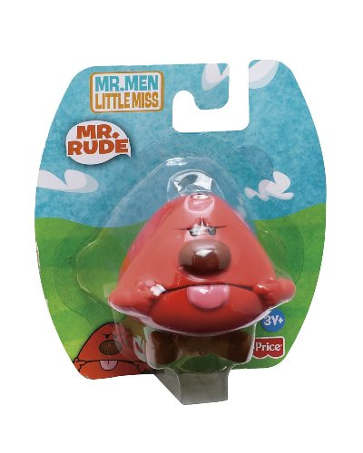 Buy Low Price Fisher Price Mr Men Little Miss Mr Rude Collectible Figure (B002M77N5O)