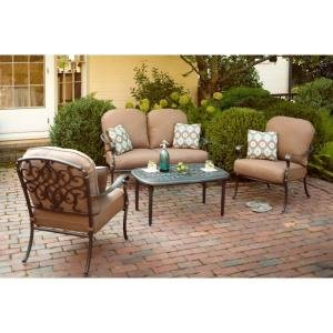 patio furniture outdoor lawn garden hampton bay edington with deep