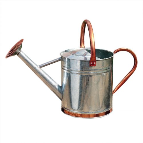Watering Can With Copper Trim 9lt/2 Gallon