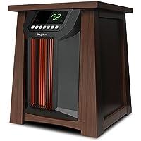 LifeSmart LifeLux LCHT0016US 1500W 8-Element Infrared Oscillating Space Heater